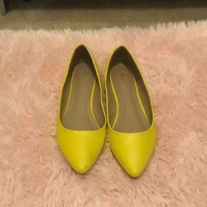 Shoes - Yellow Flats!!!!